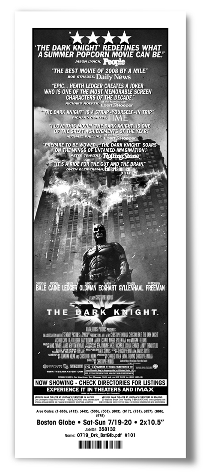 The Dark Knight ad small