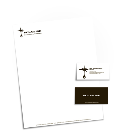 Solar Ink identity package small