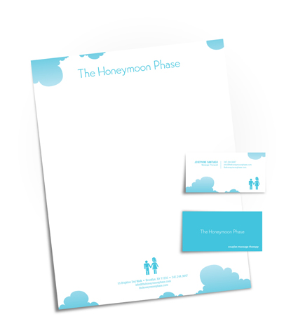 The Honeymoon Phase identity package small
