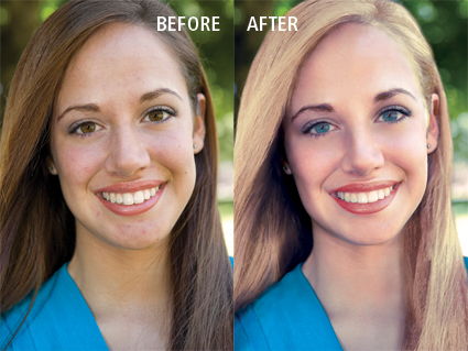 face retouch small